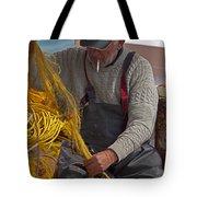 Crete Fisherman   #9348 Tote Bag