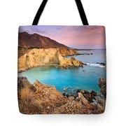 Cretan Coastline. Tote Bag