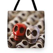 Crimson And Cream Tote Bag