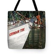 Crimson Tide Bow Tote Bag by Michael Thomas