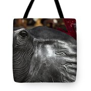 Crimson Tide For Christmas Tote Bag by Kathy Clark
