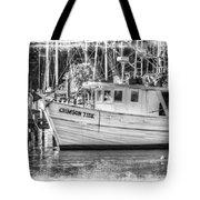 Crimson Tide Grungy Tote Bag