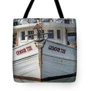 Crimson Tide Headon Cropped  Tote Bag