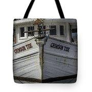 Crimson Tide Headon Tote Bag