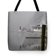 Crimson Tide In The Mist Tote Bag