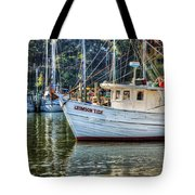 Crimson Tide In The Sunshine Tote Bag by Michael Thomas