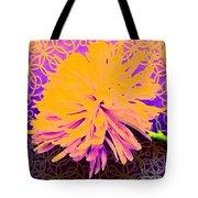 Crisantemo Dorado Tote Bag