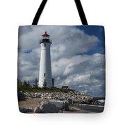 Crisp Point Lighthouse 16 Tote Bag