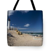 Crisp Point Lighthouse 17 Tote Bag