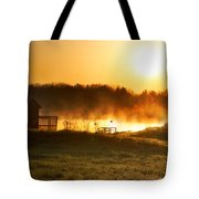 Crisp Spring Morning Tote Bag