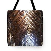 Criss Cross Chapel Tote Bag