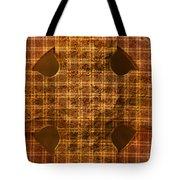 Criss-cross Tote Bag
