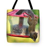 Critter Acrobat Tote Bag