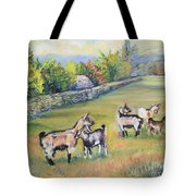 Croatian Goats Tote Bag