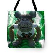 Croc Riding Monkey Tote Bag