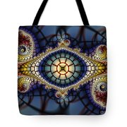 Crochet Work-geometric Abstraction Tote Bag