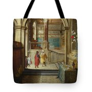 Croesus And Solon Tote Bag