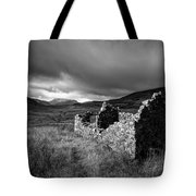 Crofters Cottage Ruin Tote Bag