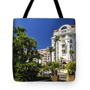 Croisette Promenade In Cannes Tote Bag by Elena Elisseeva