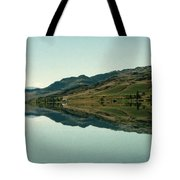 Cromwell Dam Reflections Tote Bag