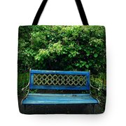 Crooked Little Bench Tote Bag