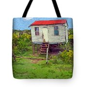 Crooked Little House - Orange Cats Tote Bag