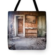Crooked Painting Tote Bag