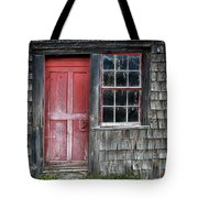 Crooked Red Door Tote Bag