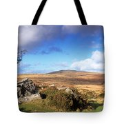 Crooked Tree At Feather Tor, Staple Tote Bag