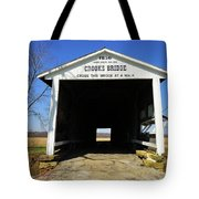 Crooks Bridge Tote Bag