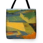 Crop Fields Tote Bag by Erin Fickert-Rowland