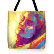Cropped Victory Dance Tote Bag