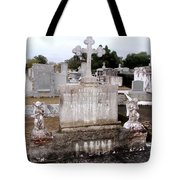 Cross And Angels Tote Bag