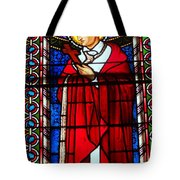 Cross And Red Robe Tote Bag