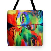 Cross-circuiting Emotions Tote Bag
