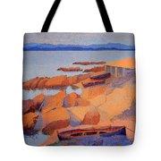 Cross' Coast Near Antibes Tote Bag