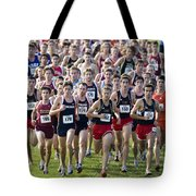 Cross County Race Tote Bag