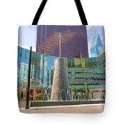 Cross Fountain #1 Tote Bag