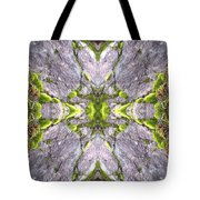 Cross In The Forest Tote Bag