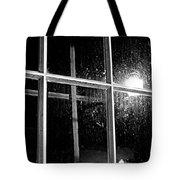 Cross In Window Tote Bag