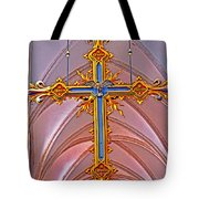 Cross Of Church Of Our Lady Tote Bag