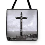 Cross Of Jesus Christ Tote Bag