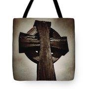 Cross Of The Rocks In Sepia Tote Bag