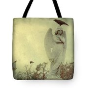 Cross Or Angel Tote Bag