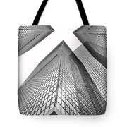 Crossed Tote Bag