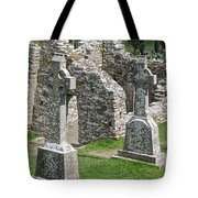 Crosses Of Clonmacnoise Tote Bag