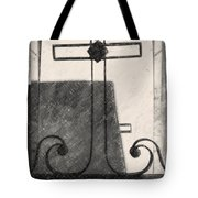 Crosses Voided Wrought Iron _ Nola Tote Bag