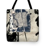 Crossing Indigo Tote Bag