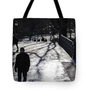 Crossing Over - Central Park - Nyc Tote Bag