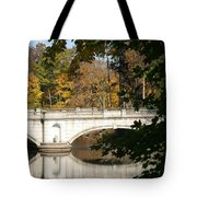 Crossing Over Into Autumn Tote Bag